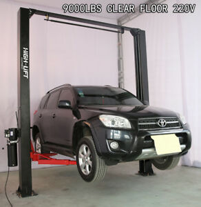 New 2 Post Vehicle Lift Heavy Duty Two Post Car Truck Auto Hoist With Accessory