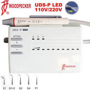 Woodpecker Dental Electric Ultrasonic Piezo Scaler Uds p Led Handpiece Endo Ems