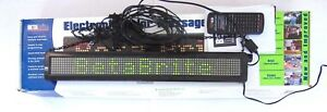 Betabrite Adaptive Micro Systems Programmable Scrolling Sign 213c 1 Alpha Beta