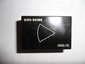 Operational Amplifier Burr brown 1552 15
