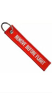 Remove Before Flight Key Chain Keychain F150 F250 F350 Ford Ranger Svo Shelby Gt