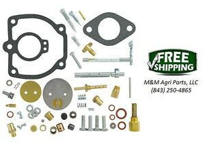 Farmall Ih 400 450 Tractor Complete Carburetor Repair Kit Ih Carb 362173r92