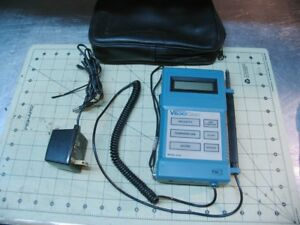 Velocicalc Air Velocity Meter tsi Model 8350 W case dc Power Adapter