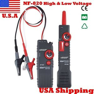 Usa Ship Nf 820 High low Voltage Underground Wall Wires Fault Locator Cable