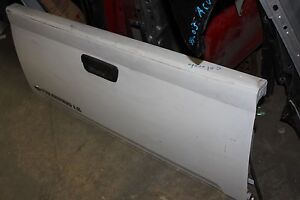 04 05 06 07 08 2012 Gmc Canyon Chevy Colorado Tailgate Tail Gate Assembly White