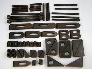 62 Pcs Te co 40102 Step Blocks Milling Slot Table Tooling Components