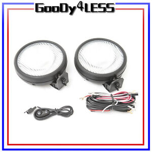 For 97 06 Jeep Wrangler Fog Lights Oe Replacement Driving Lamp Jdm Assembly