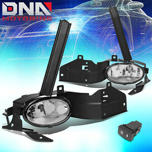 Jdm Oe Bumper Clear Driving Fog Light Lamp Kit For Honda Accord 08 10 2dr Coupe