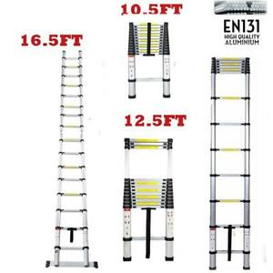 10 5ft 12 5ft 16 5ft Aluminum Multi purpose Telescopic Ladder Extension Economic