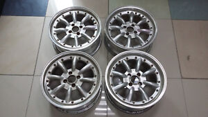 Jdm 16 Ssr Rs8 Rs 8 Pcd100x4 Wheels Banana Watanabe Br Civic Mx5 Miata E30 Crx