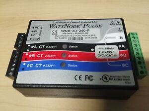 Wattnode Wnb 3d 240 p 240v Power And Energy Meter