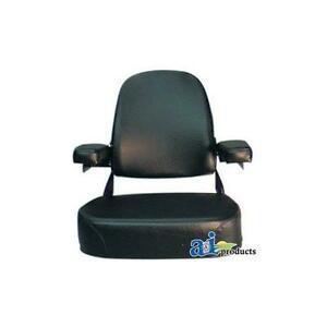 Csa2001 1v Seat With Arms For Massey Ferguson Tractor 1085 1105 1135 1150 1805