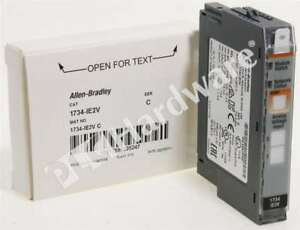 New Allen Bradley 1734 ie2v c 2016 Point I o 2 channel Analog Voltage Input