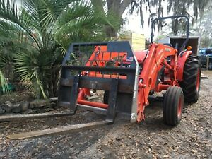 2015 Kubota Mx4800 With Loader And Attachments