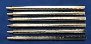 Hu friedy Dental Mirror Handle Reference Mh1 Lot Of 6