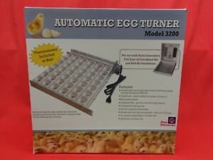 New Farm Innovators Automatic Poultry Chicken Egg Turner W Egg Racks 3200