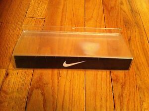 Nike Brand Bracket Shoe Display Shelf Retail Collectible Plastic Sneaker Rare