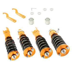 Tuning Full Coilovers For Ef Civic Crx 88 91 Shocks Struts Spring Suspension Kit