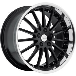 20x10 Black Coventry Whitley Wheels 5x4 25 25 Lifted Land Rover Lr2