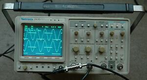 Tektronix 2430 150 Mhz Digital Oscilloscope calibrated works Great Sn b010455
