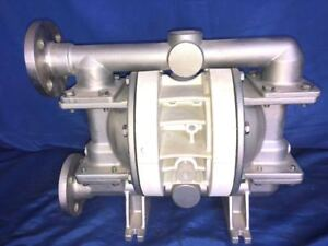 Wilden Stainless Steel 1 Inlet 1 Outlet Diaphragm Pump Model P200 With Teflon