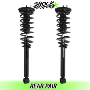 Rear Pair Quick Complete Struts Coil Springs For 1999 2003 Mitsubishi Galant