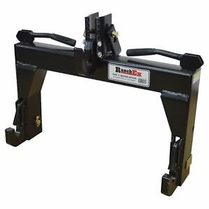Ranchex Cat 1 Quick Hitch Adjustable Top Bracket Includes Top Pins And Adapte