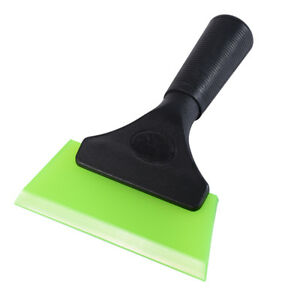 5 Inch Durable Rubber Squeegee Black Plastic Handle Window Tint Car Vinyl Tool