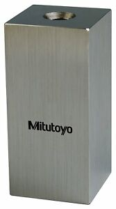 Mitutoyo Steel Square Gage Block Asme Grade As 1 6 0 Mm Length