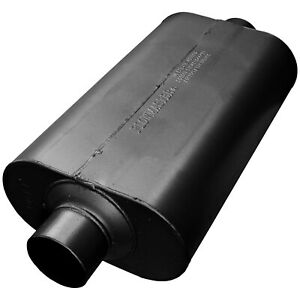 Flowmaster Super 50 Muffler 3 00 Center In 3 00 Center Out Mild Sound