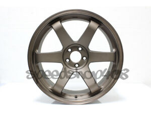 Rota Grid Wheels Speed Bronze 18x9 5 38 5x100 For Scion Tc 05 10 Wrx 02 14