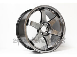 Rota Grid Wheels Hyper Black 18x8 5 44 5x100 For Scion Tc 05 10 Wrx 02 14
