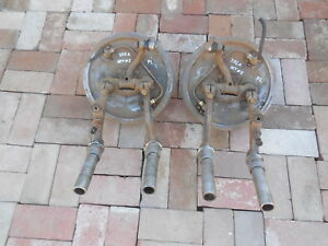 Porsche 356 A Front Drum Brake Assemblies With Control Arms Fl