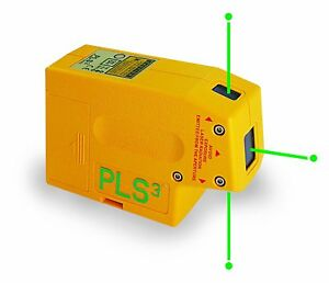 Pls3 3 point Green Beam Laser Level Pls 60595 By Pacific Laser Systems