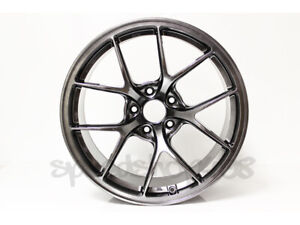 Rota Kb r Wheels Hyper Black 18x9 5 38 5x100 For Tc 05 10 Subaru Wrx 02 14