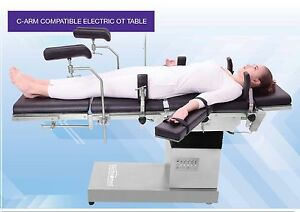 Electric C arm Compatible Ot Table Smps Based Control Box With Zero Positions
