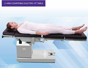 Electric C arm Ot Table Compatible With Up Down Left Right N Flex Position