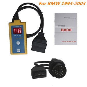 Outzone B800 Srs Reset Scanner Obd Diagnostic Tool For Bmw Car Vehicle Airbag Ca