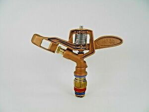 10 Aqua Burst Hf 30 3 4 Heavy Duty Brass Impact Sprinkler Replace Rain Bird 30h