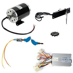35 Sprocket 1000w 48v Electric Motor control Box reverse keylock pedal Throttle