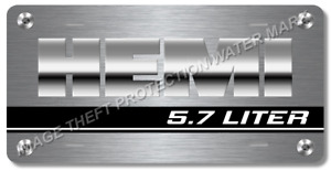 Hemi Novelty Vanity Car Auto Truck License Plate Tag Gift Dad 6 X12 New