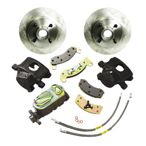 Ssbc Performance Brakes A112 5 Disc To Disc Brake Conversion Fit 87 93 Mustang