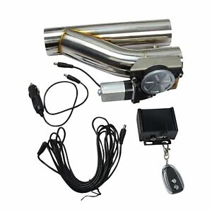 2 5 Electric Exhaust Catback Downpipe Cutout E Cut Out Valve System Kit