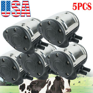 usa 5pcs L80 Pneumatic Pulsator For Cow Milker Milking Machine Cattle Dairy Fda