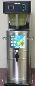 Bunn Tb3q 3 Gallon Commercial Iced Tea Brewer Maker 120v Tea Dispenser