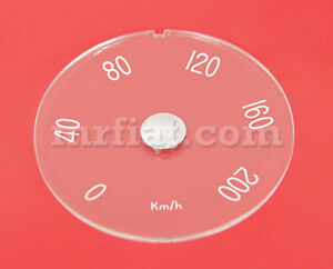 Volvo P1800 1965 69 D 114 X 5 Mm Clear Speedometer Lens New