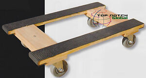 Moving Dolly Rubber Rails Piano H dolly Furniture Dolly 800 Lbs Capacity
