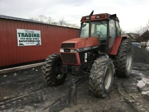 1996 Case Ih 5230 4x4 Farm Tractor W Cab Tractor Has Transmission Issues