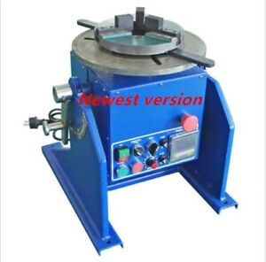 200kg Welding Automatic Positioner Mig Tig Welder Positioner Machine jaw Chuck