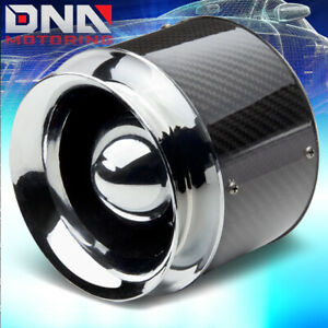 2 5 Performance Short Ram Cold Air Intake Velocity Stack Rubber Filter Clamp